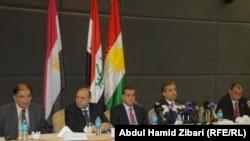 إجتماع في أربيل مع ممثلي القنصلية المصرية