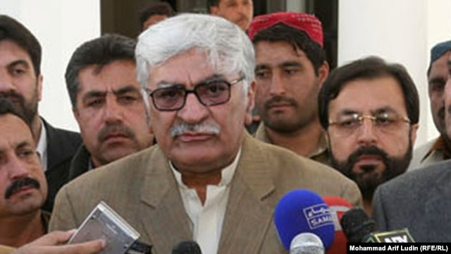 Awami National Party leader Asfandyar Wali Khan