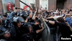 Акция протеста в Москве 27 июля 2019 года