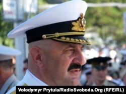 Командувач ВМС України віце-адмірал Юрій Іл'їн