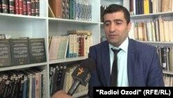 Шервоншо Аламшоев, донишманди ҷавони тоҷик.