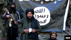 Պակիստանում և Աֆղանստանում «Իսլամական պետության» խմբավորման առաջնորդ Հաֆիզ Սաիդ Խանը երկու երկրների սահմանին, հունվար, 2015թ․