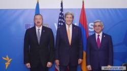 ԱՄՆ-ի պետքարտուղար Ջոն Քերին հեռախոսազրույցներ է ունեցել Սերժ Սարգսյանի և Իլհամ Ալիևի հետ