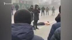 Кадыровцы выставили труп подозреваемого на сельской площади