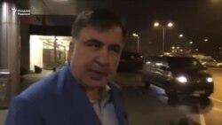 Украина расмийлари Саакашвилини Польшага депортация қилди