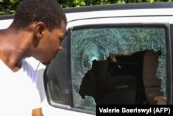 Последствия нападения на дом Жовенеля Моиза. 7 июля 2021 года