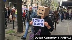 Belgrade, Serbia - Protest 'Environmental uprising'
