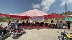 جنوبي وزیرستان کې د ماین چاودنو معذوران خپل احتجاج اسلام اباد ته غځوي