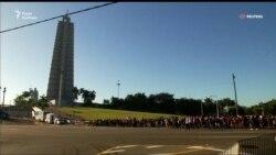 На Кубі почалося громадське прощання з Фіделем Кастро (відео)