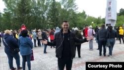 Экоактивист Артем Сочнев, Степногорск, 22 июня 2021 года