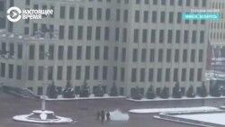 В Минске мужчина поджег себя у Дома правительства