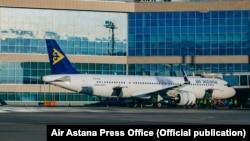 Air Astana ұшағы.