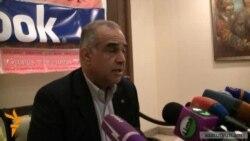 Րաֆֆի Հովհաննիսյան. «Սա հարված է ինձ, բոլորիս»