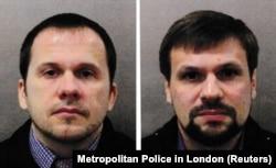 Dy agjentët rusë që kanë përdorur pseudonimet Alesander Petrov dhe Ruslan Boshirov.