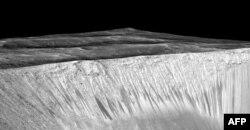 Марстагы су агымы эзләре. NASA сурәте