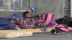 Migranti zarobljeni u beogradskim parkovima