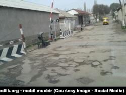 Дороги Ахангаранского района