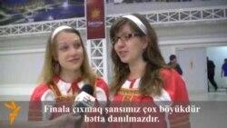 Фаны Eurovision в пресс-центре конкурса