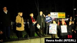 "Sa protesta ""1 od 5 miliona"", Beograd, 29. februar 2020."