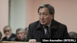 Kyrgyzstan - Kanatbek Turganbekov, ex court during the trial of Daniyar Narymbaev and Hajimurat Korkmazov, Bishkek, 19Oct2015