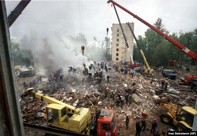 После взрыва на Каширском шоссе, 13 сентября 1999 года