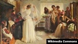 Джон Генры Фрэдэрык Бэйкан, «Вясельная раніца» (1892)