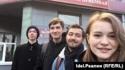 Cторонники Алексея Навального в Чебоксарах