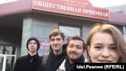 Чабаксарда Алексей Навальный тарафдарлары
