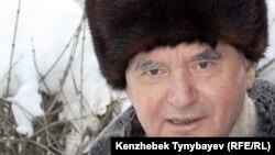 Жазушы Герольд Бельгер. Алматы, 27 желтоқсан 2009 жыл.