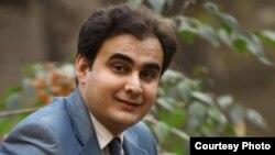 Iranian polotical activist Peyman Aref