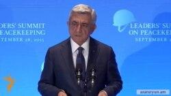 Սերժ Սարգսյան․ Հայաստանը միջազգային գործընկերների հետ Աֆղանստանում մնալու է այնքան, որքան անհրաժեշտ է