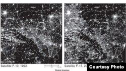 Evaluarea stării economiei din satelit