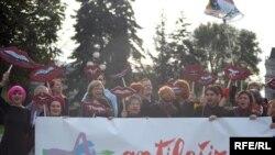 Sa jednog od protesta protiv antifašizma - ilustrativna fotografija, Autor: Vesna Anđić
