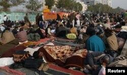 Учасники маршу збираються розташуватися в Ісламабаді надовго, 14 січня 2013 року