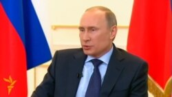 Пуцін: Ва Ўкраіне антыканстытуцыйны пераварот і ўзбройны захоп улады
