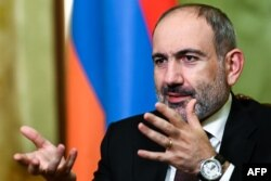 "Armenian Prime Minister Nikol Pashinian: ""I would not be overly surprised to see some sort of an uprising against him, perhaps orchestrated by Moscow, out of all of this,"" said Matthew Bryza, the former U.S. co-chair of the OSCE's Minsk Group for Nagorno-Karabakh negotiations."