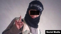 Abu Usama is not playing at being an Islamic State militant. He is one of the extremist group's child fighters.