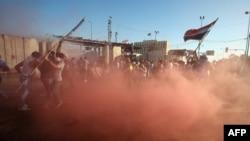 Etirazçılar Yaşıl Zonaya girməyə çalışır, 20 may, 2016-cı il