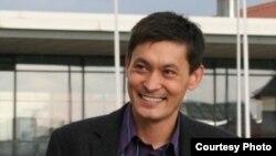 Серик Медетбеков, руководитель Заграничного бюро Казахской оппозиции. Дрезден, лето 2009 года.