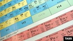 Химиялык элементтердин мезгилдик системасы