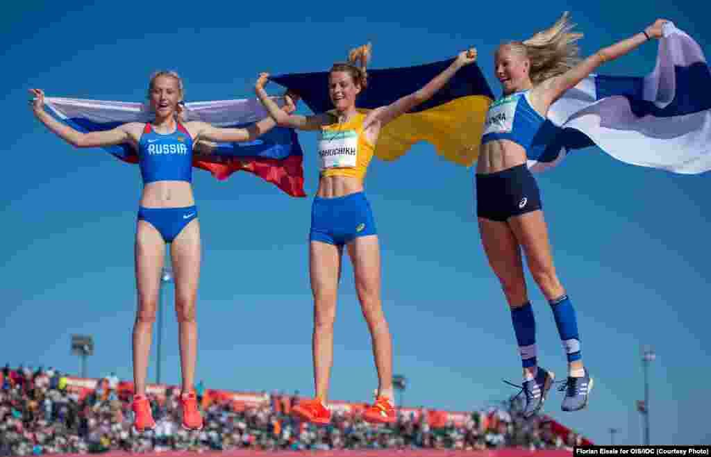 Ярослава Магучіх показала не лише перший результат у стрибках у висоту, але й встановила особистий рекорд