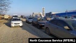 Расширение федеральной трассы в Ингушетии, 3 декабря 2019 г.