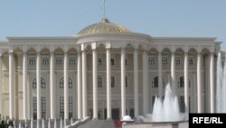 "Tajikistan – View of ""Kokhi Millat"", Dushanbe, Jul2008"