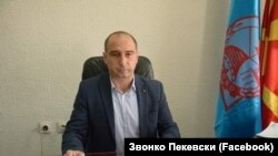 Звонко Пекевски, градоначалник на Берово