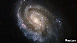 """NASA-nyň """"Hubble"""" teleskopy bilen düşüren suraty."""