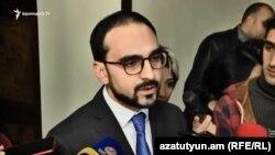 И. о. вице-премьера Тигран Авинян, Ереван, 13 ноября 2018 г.
