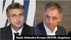Andrej Plenković i Milorad Pupovac