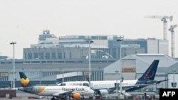 O imagine a aeroportului din Bruxelles
