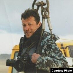 Алексей Ковалев в экспедиции в Монголии