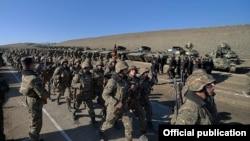 Армянская армия в Карабахе